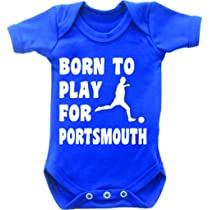 Personalised Football Baby GrowAny Club NicknameAdd Your NameSupporter