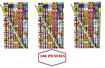 Amazon 100 religious pencils easter basket fillers egg 100 religious pencils easter basket fillers egg hunt prize christmas stocking negle Image collections