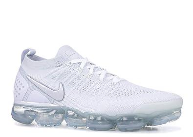 73452dbcee Nike Men's Air Vapormax Flyknit 2, White/White-VAST Grey, 15 M US ...