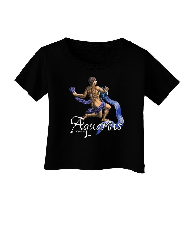 TooLoud Aquarius Color Illustration Infant T-Shirt Dark