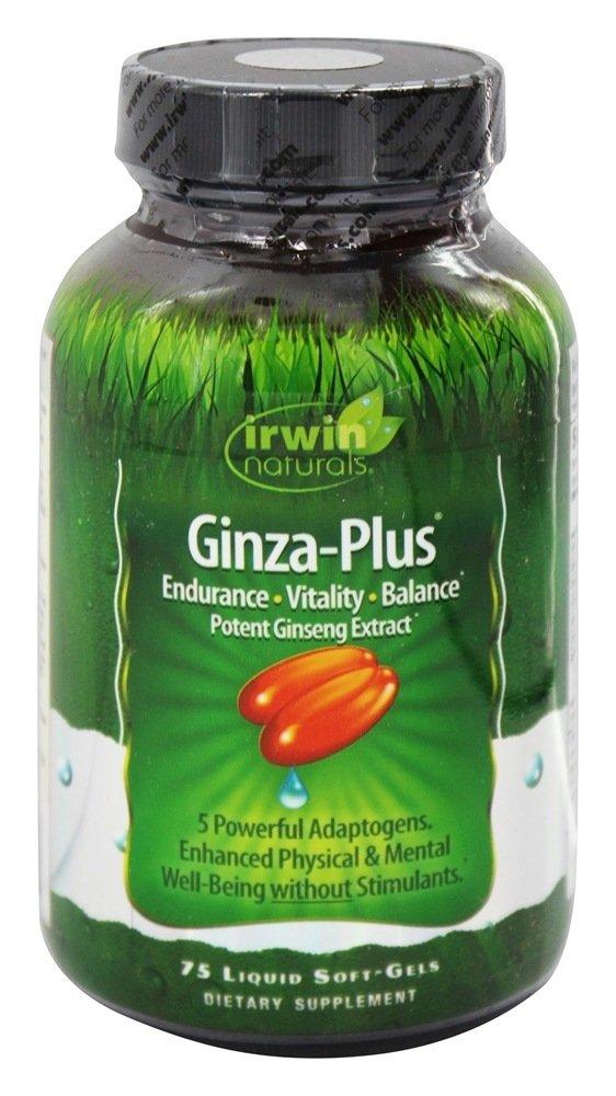 Ginza Plus Irwin Naturals 75 Softgel