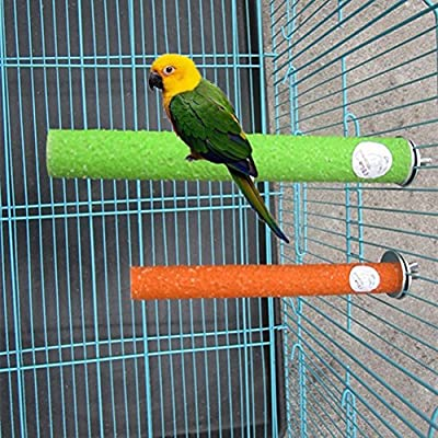 Soporte para jaula de pájaros UEETEK Juguete para loro periquitos ...