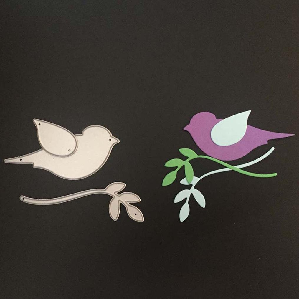 Metal Cutting Die Stencils The bird DIY Craft Embossing Die Cutting Template  /_H