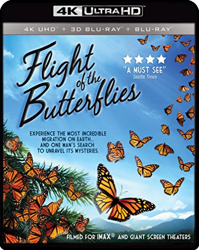 4K Blu-ray : Imax: Flight Of The Butterflies (With Blu-Ray 3-D, 2 Pack, Widescreen, 2 Disc)