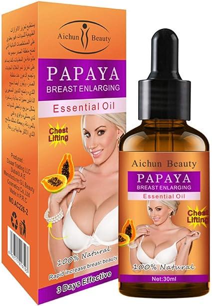 AICHUN BEAUTY Aichun Beauty Natural Papaya Breast Lifting Enlargement Enlarging Essential Oil 30Ml: Amazon.co.uk: Beauty