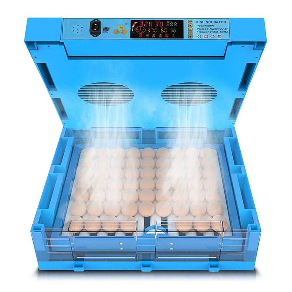 Automatisch Eierbrutschr/änke Zum Schraffur Eier Heizung Drehen 192 Eier Digital Zum Gefl/ügel H/ähnchen Ente Taube Temperatur Feuchtigkeit Steuerung