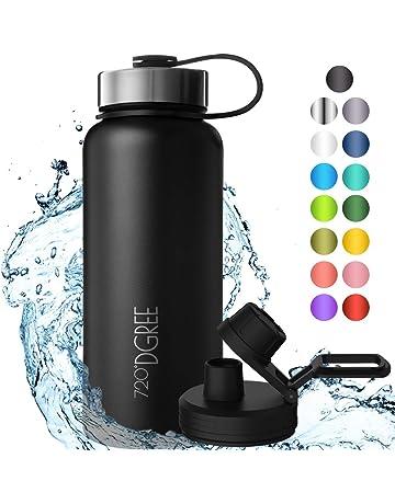 Sigg Thermos-botella Glass 0,4 l Hot /& Cold isolierflasche Thermo vidrio WMB Aqua