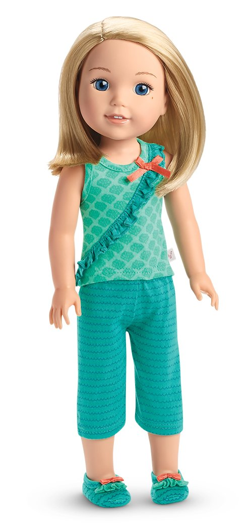 American Girl WellieWishers Camille's Stripes & Scales PJs American Girl - Toys FHJ14-9665