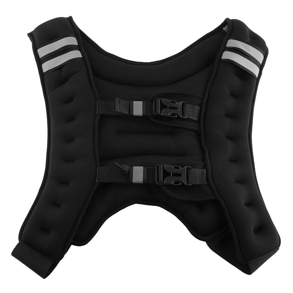 Cocoarm Weighted Vest 22 Pounds Fixed Weight Iron Sport Exercise Weighted Vest with Adjustable Buckle for Workout Fitness Resistance Training for Men Women