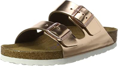 | Birkenstock Arizona Soft Foot Bed Metallic