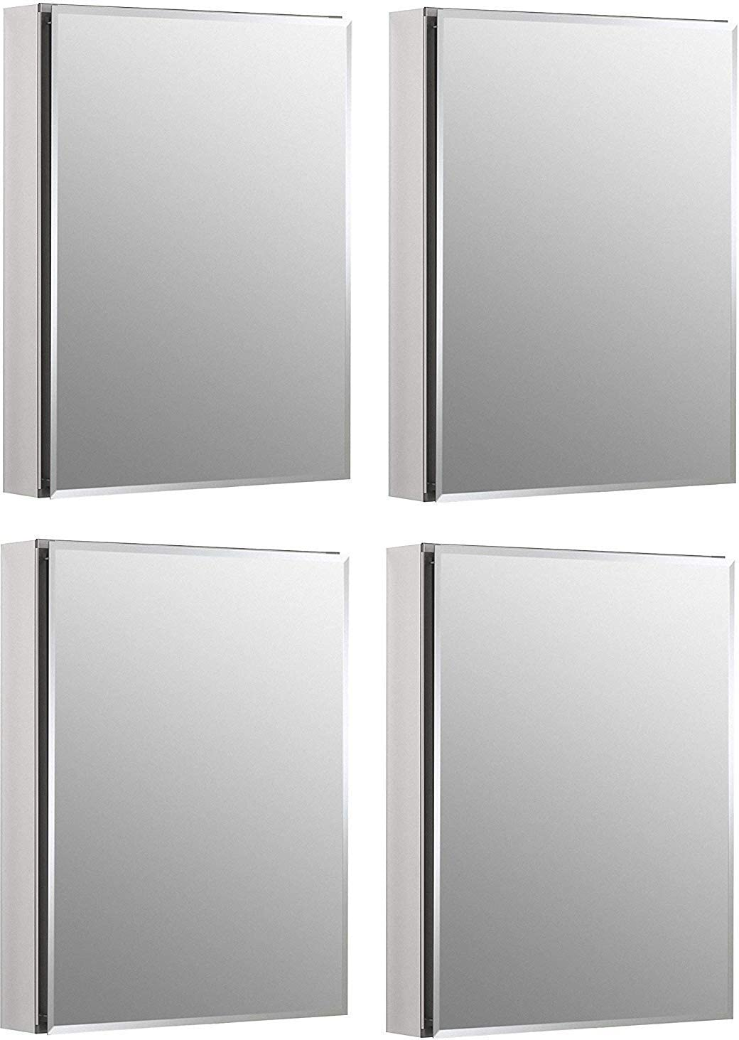 Kohler K-Cb-Clc2026Fs Armario de baño de Aluminio sin Marco, de 20 ...