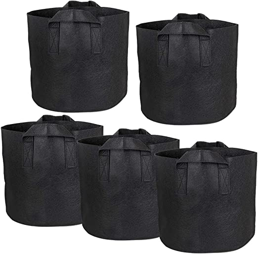Vidillo - Bolsa de cultivo de patatas, 5 unidades, bolsa de velcro ...