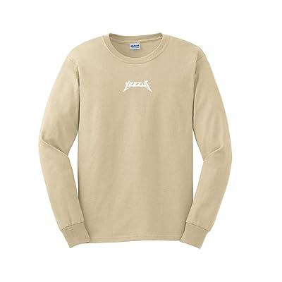 AA Apparel Yeezus Tour Glastonbury Long Sleeve Kanye West Shirt: Clothing