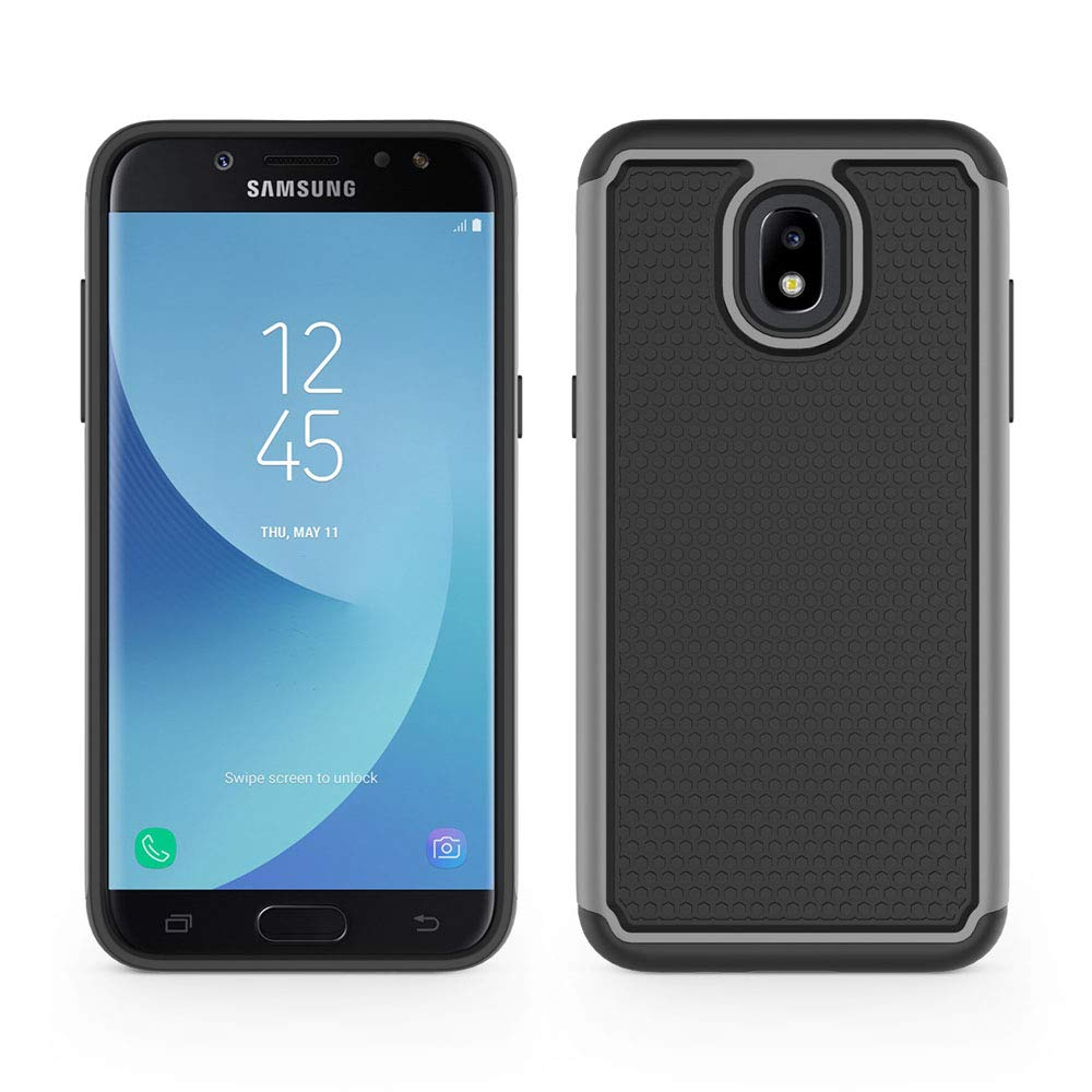 Good 2-layer Case Samsung Sm J337 J337p J337a Galaxy J3 Amp Prime 3 Achieve Star 2018 Cases, Covers & Skins