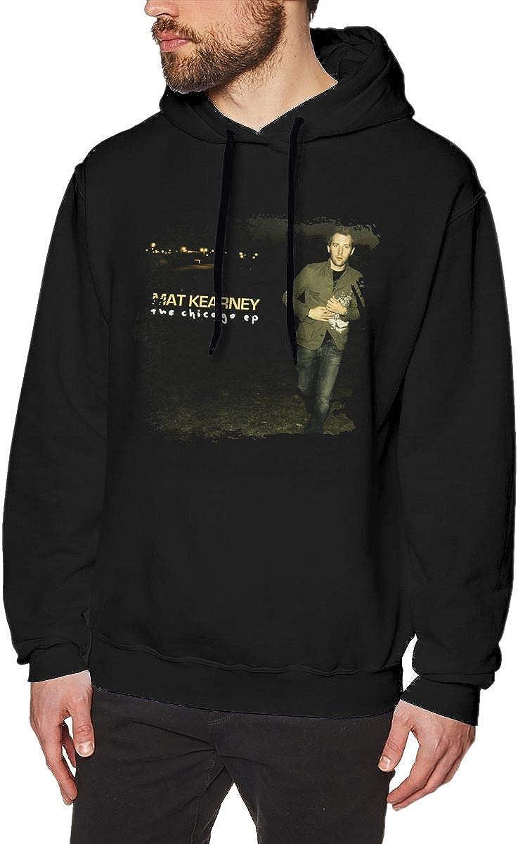 Gerneric Dxfbdfxn Mat Kearney Fashion Mens Long Sleeve Pullover Sweatshirt Black