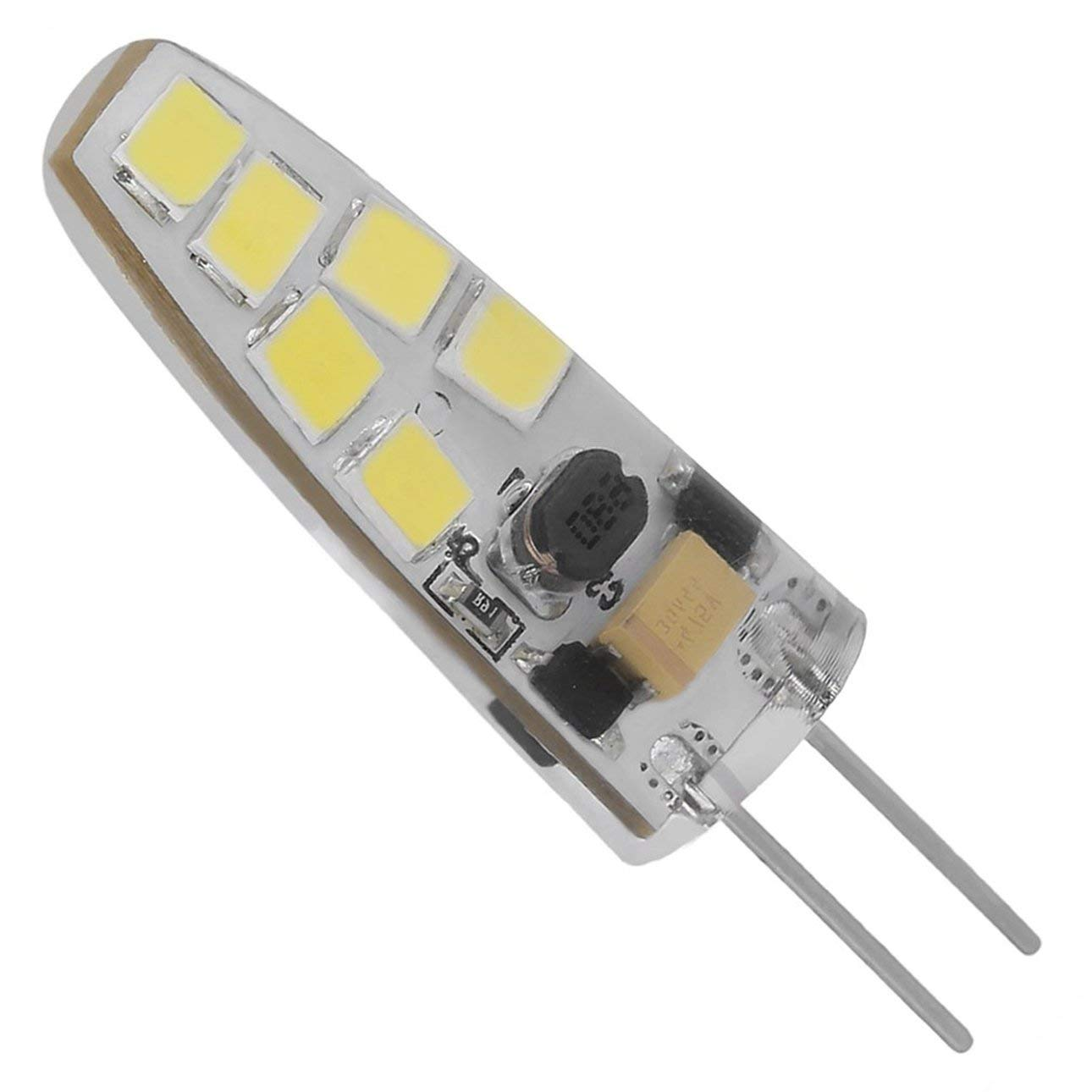 Liobaba Mini No Dimmable G4 LED Lamp With 12LEDs COB 7W AC/DC 12V LED Light 360 Beam Angle Chandelier Replace Halogen Lamps
