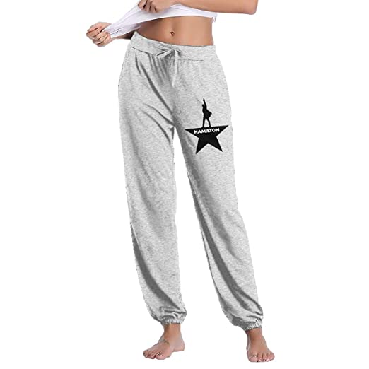 276e5a01e0ff86 LIALUER Musicals Hamilton Women's Sweatpants Workout Running Pants with Pockets  Jogger Pants at Amazon Women's Clothing store:
