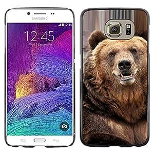 Stuss Case / Funda Carcasa protectora - Bear Cute Furry Animal Nature Beast - Samsung Galaxy S6 SM-G920