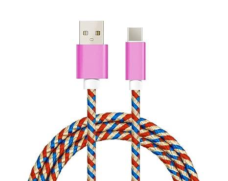 Bellatio Cable Compatible con Samsung Galaxy Note 8 Cable ...