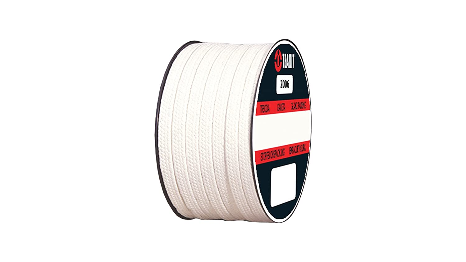 STCC Pure PTFE Yarn 2006.312x10 2006 Teadit Style Braided Packing FDA Approved Spool 5//16 CS x 10 lb Spool 5//16 CS x 10 lb Sterling Seal and Supply