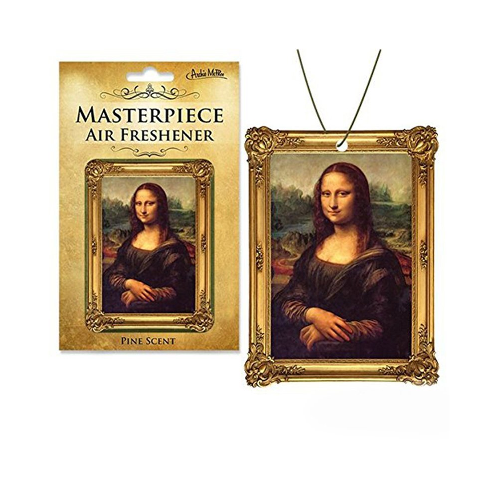 Mona Lisa Masterpiece Air Freshener Accoutrements 12622