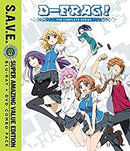 D-Frag: The Complete Series S.A.V.E. (Blu-ray/DVD Combo)