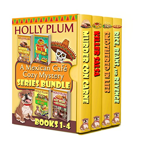 A Mexican Cafe Cozy Mystery Series Bundle: Books 1-4 by Holly Plum