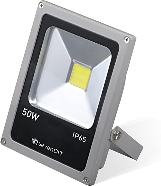 SevenOn LED Outdoor 09243 Proyector Exterior LED, 50 W, Gris y ...
