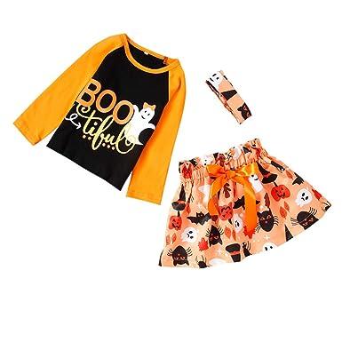 Yinshao Conjuntos de Top y Pantalones Largas para Niña y Bebé ...