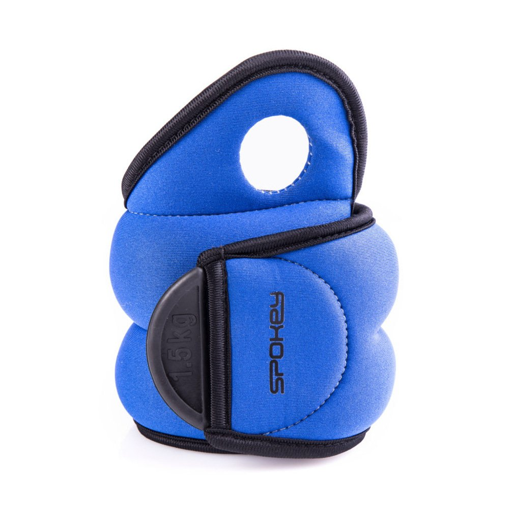 Set of 2weight cuffs 0.5kg 1kg 1.5kg | Spokey | Running weights, wrist weights with thumb loop | COM FORM IV 2 x 0 5 kg