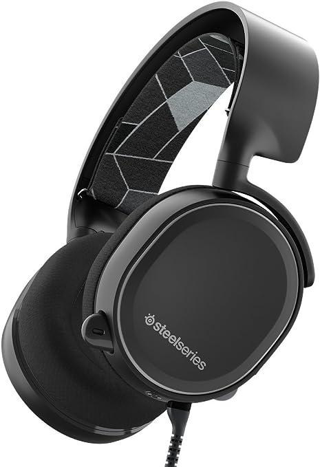 SteelSeries Arctis 3 (Edición Legado) - Auriculares para juego, PC Mac, PlayStation 4, Xbox One, Nintendo Switch, Móvil, VR, color Negro: Amazon.es: Informática