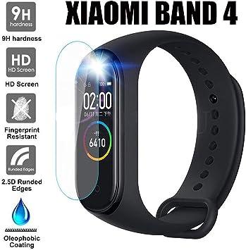 3 Pack] Protector de Pantalla Para Xiaomi Mi Smart Band 4, Weideworld Soft TPU Cristal Pantalla Para Xiaomi Mi Smart Band 4,Transparente: Amazon.es: Electrónica