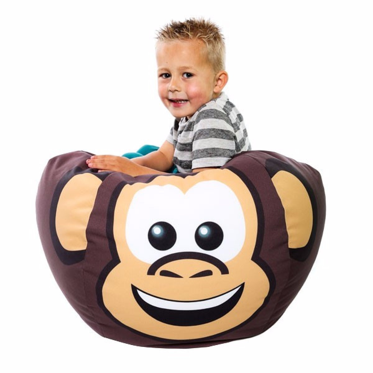 RU Comfy Kids Bean Bag, Fabric, Marvin The Monkey, Small PRBULL-SML