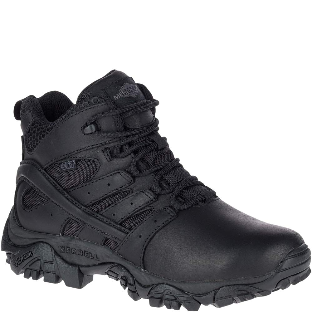 Merrell Moab 2 Mid Tactical Response Waterproof Boot Women 9.5 Black by Merrell