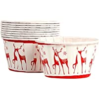 100 Pieces Paper Baking Cups Cupcake Liners for Party/Wedding/Christmas (A31)