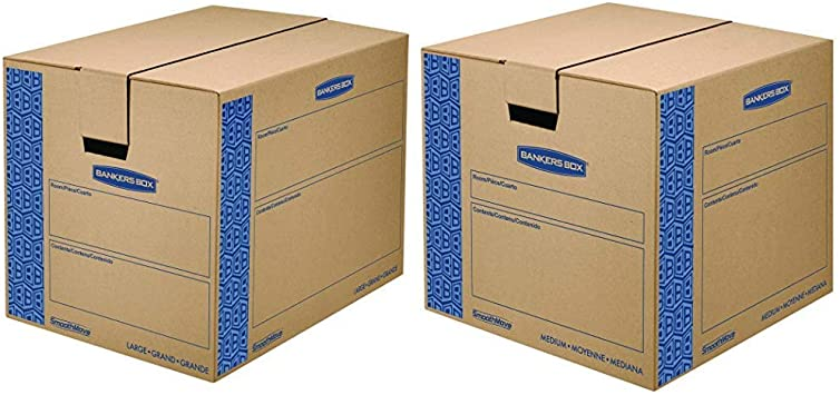 SmoothMove Prime Moving Boxes Medium 8 Pack
