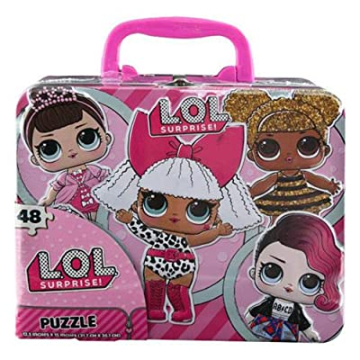 L.O.L Surprise! 48pc Puzzle Tin Box Lunch Tin: Toys & Games