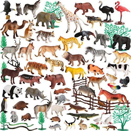 Migration 100Piece Set of Animals Figures &