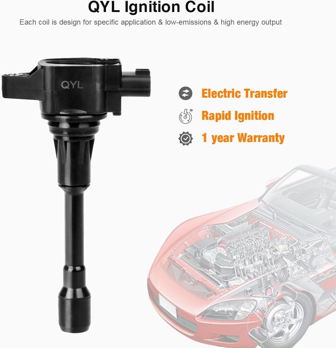 Online Automotive AUTT20 4011-OLACU1210 Premium Ignition Coil Pack Set