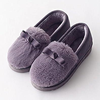Zapatillas de Algodón Señora Lindo Todo Incluido Zapatos de ...