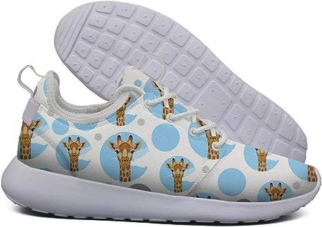 LOKIJM Animal Giraffe Head Sneaker Zapatos para Mujer Deportivos Absorción de Choque Mejor Zapatillas de Running: Amazon.es: Deportes y aire libre
