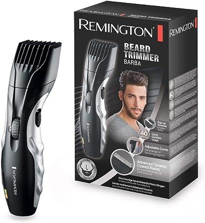 Corta barbas con cuchillas con revestimiento de cerámica avanzada; las láminas nunca necesitan lubri