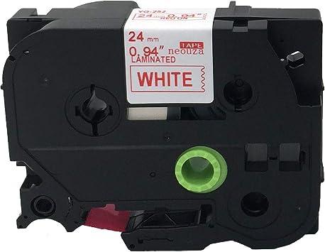 3 Schriftbänder kompatibel zu Brother P-Touch TZE-615 8m//6mm Weiß auf Orange