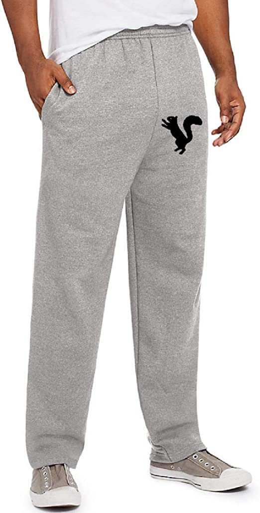 Nuts for You Amys Bubbling Boutique Gift for Him Squirrel Sweatpants for Him Boyfriend Husband