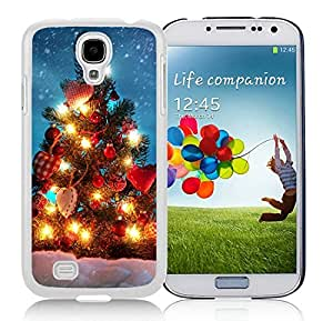 Hot Sell Design Samsung S4 TPU Protective Skin Cover Merry Christmas White Samsung Galaxy S4 i9500 Case 71