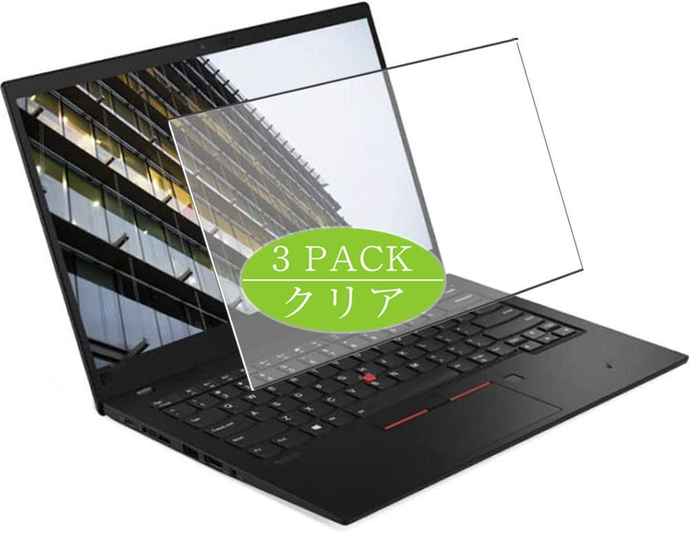"""[3 Pack] Synvy Screen Protector for Lenovo ThinkPad X1 Carbon Gen 8 2020 14"""" TPU Flexible HD Film Protective Protectors [Not Tempered Glass]"""