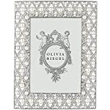 PEGEEN Austrian Perle & Crystal 5x7 frame by Olivia Riegel - 5x7