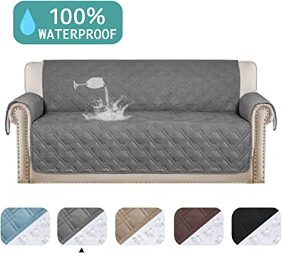 Amazon.com: Turquoize Funda para sofá impermeable para ...