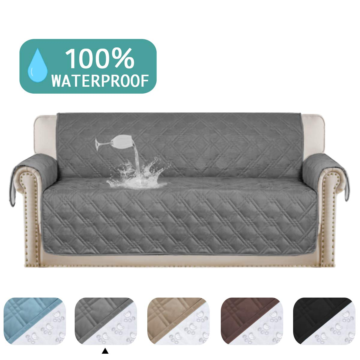 Amazing Turquoize 100 Waterproof Dog Couch Cover Quilted Sofa Protector Couch Covers For 3 Cushion Couch Soft And Smooth Quilted Furniture Sofa Covers For Pdpeps Interior Chair Design Pdpepsorg