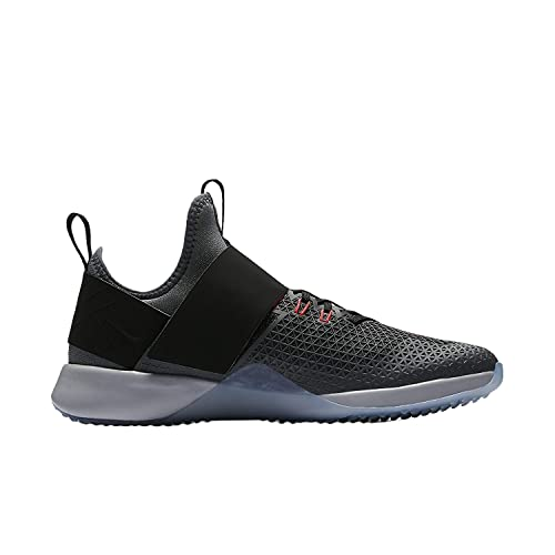sports shoes a5892 46da4 Nike Womens Air Zoom Strong Training Shoes Dark Grey Black Solar Red  843975-010 Size 7. 5  Buy Online at Low Prices in India - Amazon.in